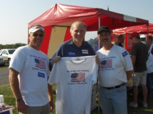 The Be Heard, Not Herded crew with Steve Chabot
